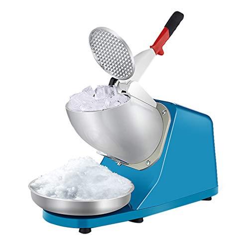 JCOCO Heavy Duty, Edelstahl-Eis-Rasierapparat, Schnee-Kegel-Maschine, elektrische rasierte Eis-Maschine (176 lbs/h Ice Shaver)