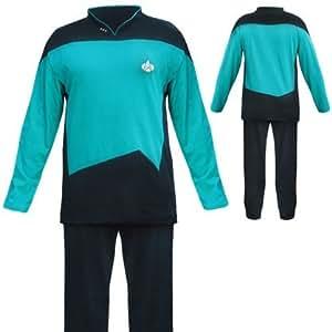 Star Trek TNG Pajama Set - BLUE - LARGE