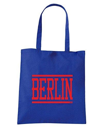 T-Shirtshock - Borsa Shopping TUM0046 berlin Blu Royal