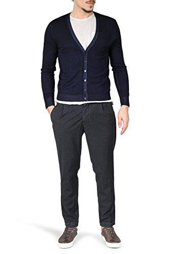Heldmann Leichte Merino-Strickjacke, gerader Schnitt, dunkelblau Blau
