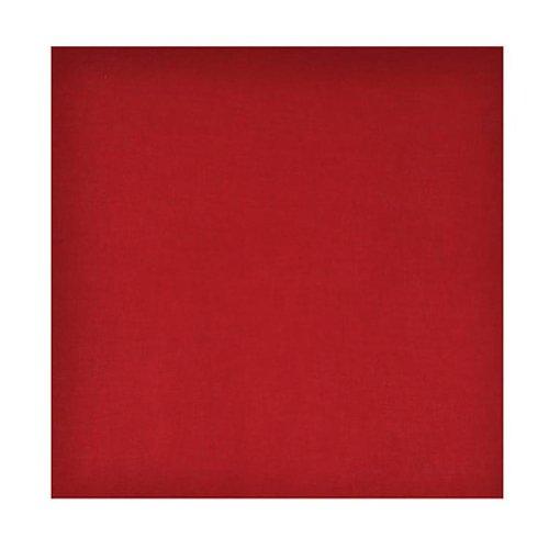 TOUTACOO Bandana, Tuch, 100% Baumwolle - Verschiedene Farben und Motive Rot