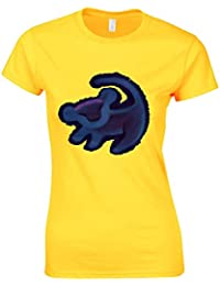 Mufasa Lion King Logo Simba Remember Who You Are Quote Tshirt Womans Cut Shirt Top