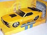 Ford Mustang Boss Gelb 429 1970 Coupe 1/24 Jada Jadatoys Modellauto Modell Auto