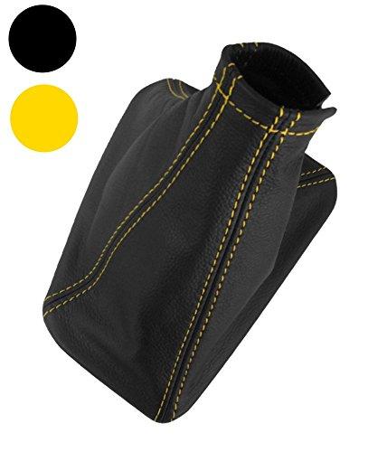 88/–95 couture jaune en cuir v/éritable Soufflet Levier pour Opel Vectra A