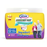 Lifree Adult Pant Style Diapers- M (24-33 inch) - 10 count