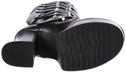 Demonia schwarz Noir Femme Bottes Slush 249 8qwr8A