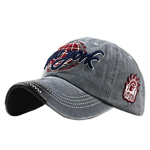 Imagen de  de béisbol con algodón  uribaky unisex sombrero para hombre y mujere  al aire libre sombrero de gorros de sol para primavera, otoño, invierno, verano ...