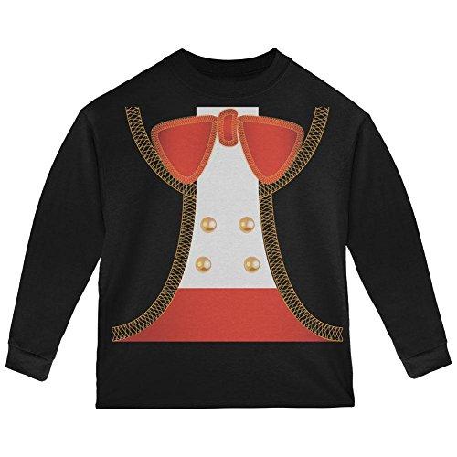 Old Glory Halloween Mariachi Kostüm Kleinkind Langarm T Shirt Schwarz 2 t