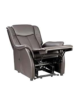 fernsehsessel xl braun leder relaxsessel tv sessel mit aufstehhilfe 2 motoren g nstig. Black Bedroom Furniture Sets. Home Design Ideas