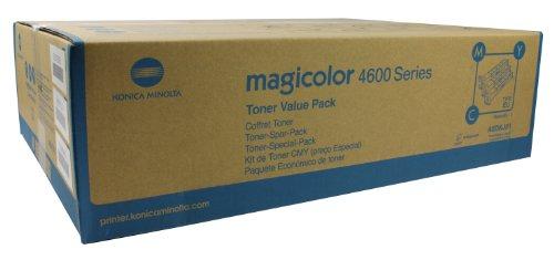 Preisvergleich Produktbild Konica Minolta A0DKJ51 magicolor 4600 Tonerkartusche dreifarbig 4.000 Seiten 3er-Pack