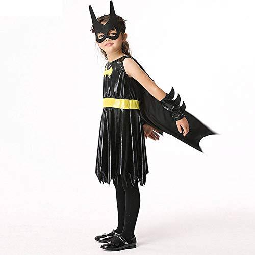 AIYA Halloween Kinder Batman Cosplay Kostüme Maskerade Cosplay - Batman Kostüm Einfach