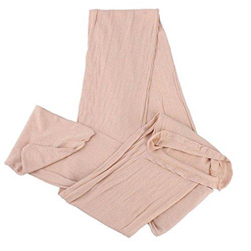 Voll Zurück Höschen Set (OOCOME Carneous sexy Nahtlose transparente Strumpfhosen see-through Strümpfe coveralls Socken Siamese Schlafsack)