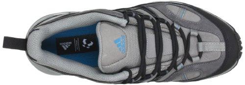 adidas Performance AX 1 LEA W Q21113 Damen Trekking- & Wanderschuhe Grau (Grey Rock S12 / Black 1 / Vivid Teal S13)