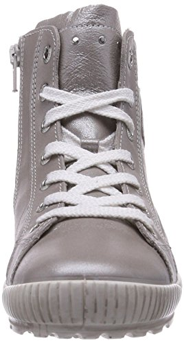 Superfit SIENA Mädchen Hohe Sneakers Silber (SILVER 16)