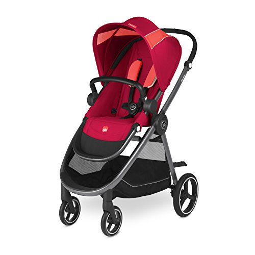 gb Gold Beli Air4, Kinderwagen, Kollektion 2018, cherry red