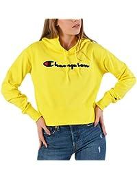 Champion Customfit Sudadera Capucha Mujer Amarillo