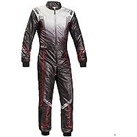 Sparco 00230648NR Mono para Karting, Negro, 48