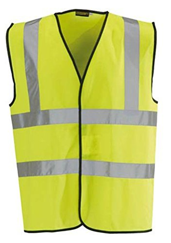 Baratec-Hi-Vis-Vest-Yellow-Orange-Small-To-6XL-2-Band-Brace