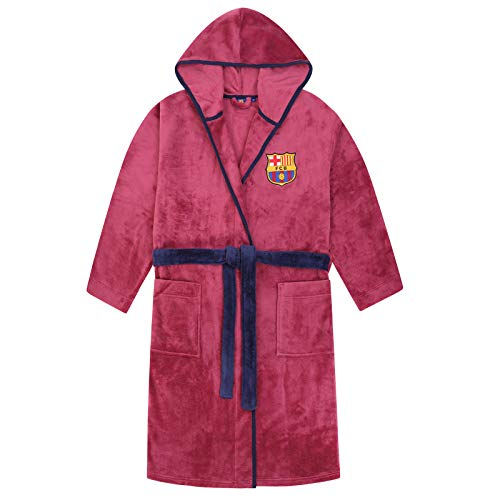 FCB FC Barcelona - Batín Forro Polar Capucha Hombre
