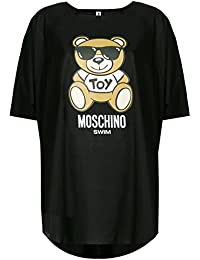 Moschino ABITO DONNA SWIM VESTITO LOGO TEDDY BEAR TOY NERO AE18MO11 37902d7c416