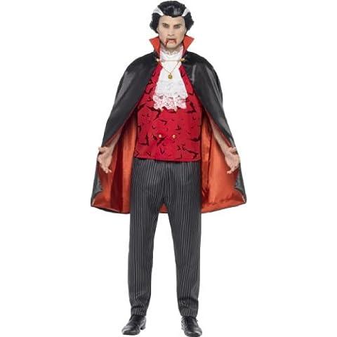 Smiffy's - Disfraz de Drácula para hombre, talla M (23165M)