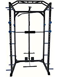 Total Body Base squats Cage machine câble Poulie Pull Up Home Gym