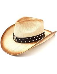 Shishanyun Sombrero de Vaquero Occidental Femenino con Sombrero de Vaquero  de señora Dad Sombrero Hombre con 0695f39dc76