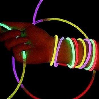 cofco cofco DIY Luminous Stick Glow Sticks fluoreszierende Armbänder 15pcs (Stick Glow Diy)