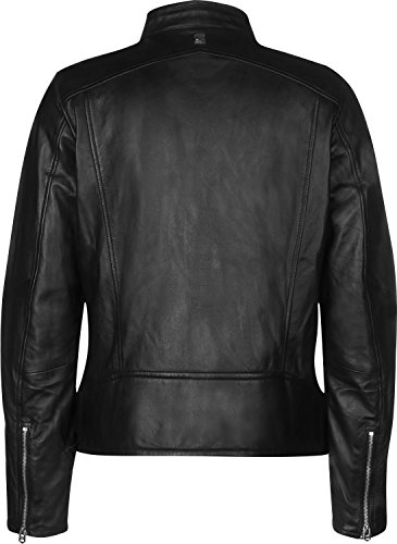 g star lederjacke G-Star Empral dc Leather Biker Lederjacke Pramon Leather Black