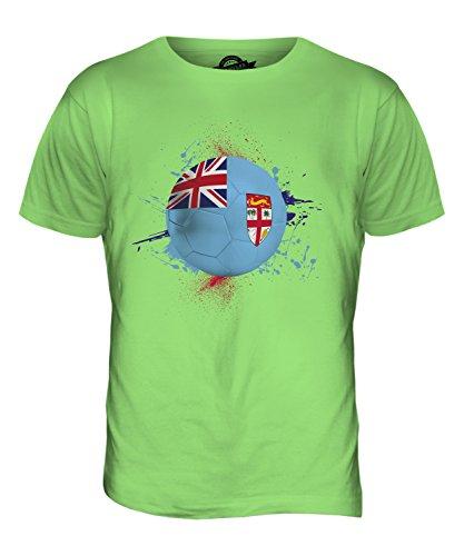 CandyMix Fiji Calcio T-Shirt da Uomo Maglietta Verde Lime