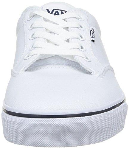 Vans M Winston, Baskets mode homme Blanc (Wht/Nvy)