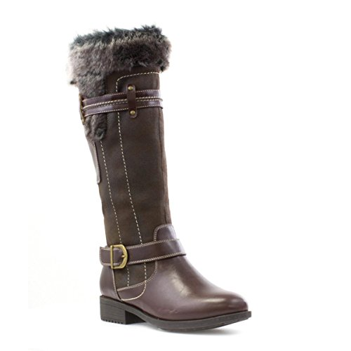 Cushion Walk Womens Casual Boot in Brown - Size 5 UK -...