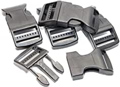 Steckschnallen-Klickverschluss 10x 15mm