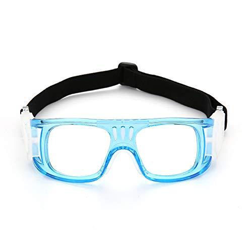 Yiph-Sunglass Sonnenbrillen Mode Neue Männer und Frauen Anti-Fog-Outdoor-Sport-Brille kann mit Myopie Fußball Brille Rahmen Basketball ausgestattet Werden (Color : Blue)