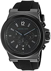 Michael Kors Analogue Black Dial Mens Watch - MK8152