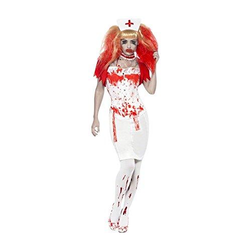Kostüm Infirmiere - Costume Infirmiere Ensanglantee Taille - 2. M