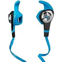 Monster iSport Strive - Auriculares intraurales resistentes al agua con función ControlTalk, color azul