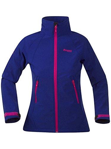 Damen Softshell Bergans Nusfjord Softshell ink blue/hot pink
