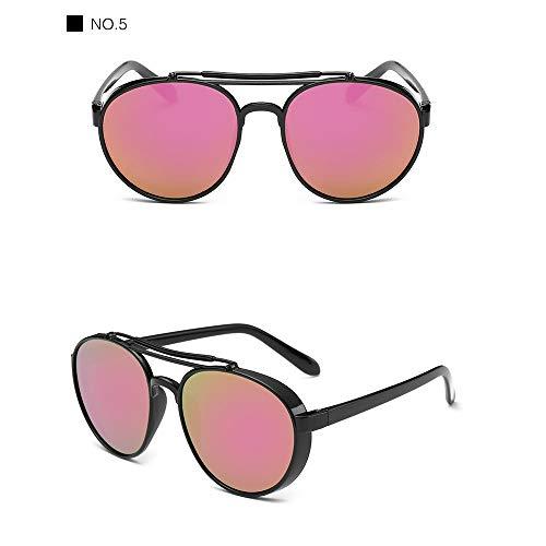 Wang-RX Sonnenbrille-Frauen-Luxusplastiksonnenbrille-klassische Retro im Freiengläser