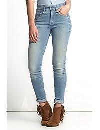 Salsa – Jeans Carrie con cinturón Alta y Pierna Muy Estrecho – Mujer ed3ebf83aca2
