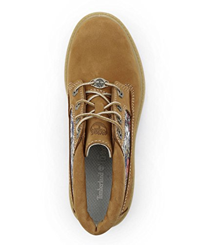 Timberland Femme Chaussures / Chaussures montantes Nellie Chukka Double Fabric and Leather Beige