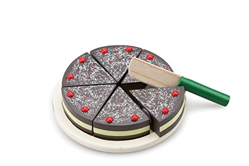New Classic Toys - 10584 - Cutting Cake - Chocolate Cake