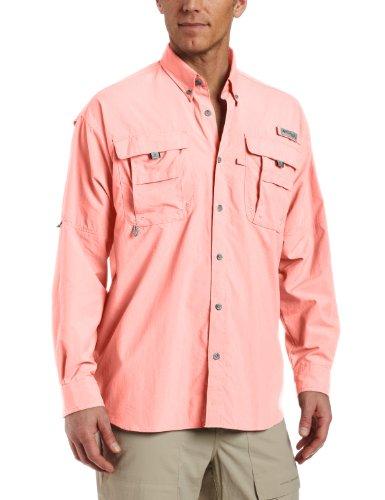 Columbia Herren Bahama II Long Sleeve Shirt Sorbet