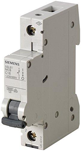 Siemens Sicherungsautomat Leitungsschutzschalter 5SL6120-7 20A Typ C 1-polig 6KA 230/400V 1 Stück -