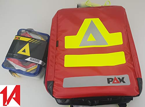 PAX SEG-Rucksack - Groß- PAX-Plan - rot - Neues Modell 2019-200430201S