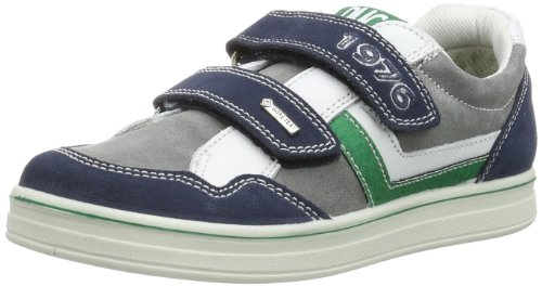 Primigi BLIKY 1625200 Jungen Sneaker Blau (NAVY-GRIGIO/BCO)
