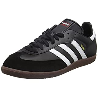 adidas Unisex-Erwachsene Fußballschuh Samba Low-Top Sneakers, Schwarz (Black/running White Footwear), 44 2/3 EU