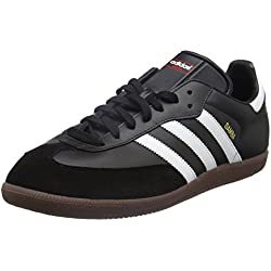 adidas Samba, Unisex-Erwachsene Sneakers, Schwarz (Black/ Running White), 44 2/3 EU (10 UK)