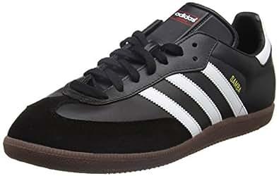 adidas Samba, Unisex-Erwachsene Fußballschuhe, Schwarz (Black/Running White), 36 EU (3.5 Erwachsene UK)