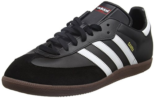 Adidas Samba, Unisex Adults Low-Top Sneakers, Black (Black/Running White), 10 UK (44...